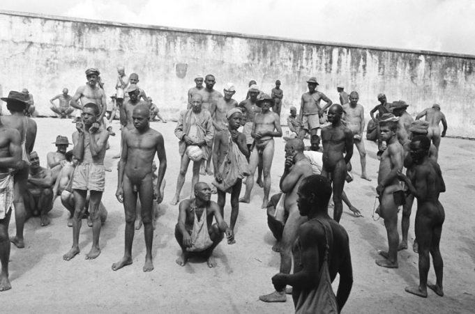 Due Male nude concentration camps rather