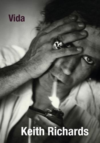 Capa de Vida, autobiografia de Keith Richards