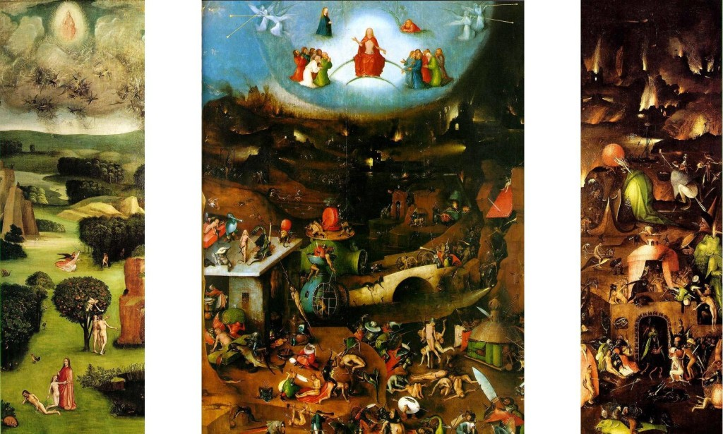 Hieronymus Bosch - the final judgement