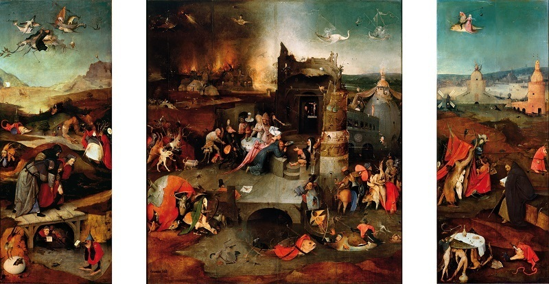 Hieronymus Bosch - temptation-of-saint-anthony