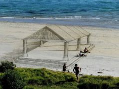 arte na praia